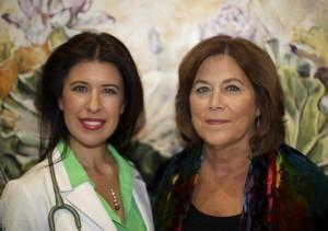 Daria Blyskal with Judith Barnett